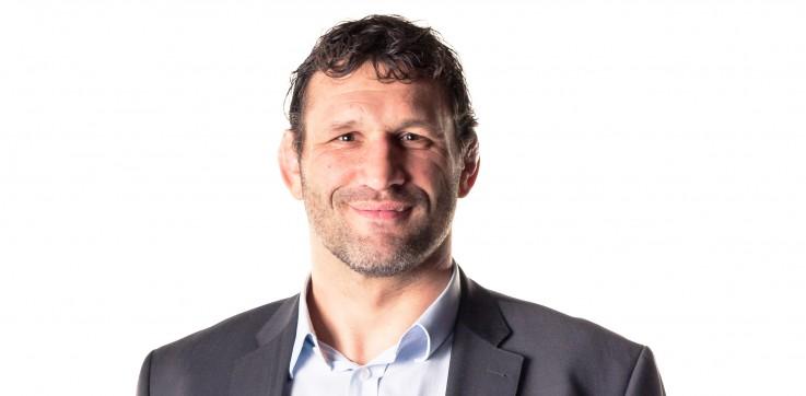 Lionel Nallet, ancien Capitaine de l'équipe de France de Rugby, Parrain du Challenge contre la Faim 2016